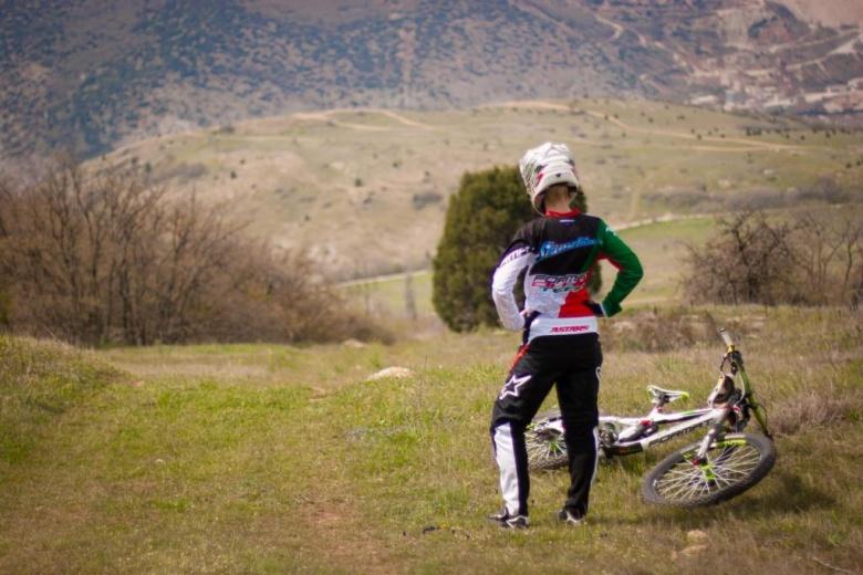 Блог им. Ritchie007: Тест экипировки Alpinestars от Анны Скумбиной