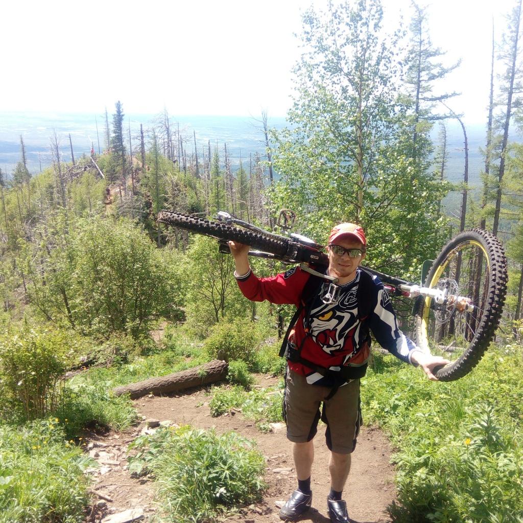 Блог им. dgimi: Бэккантри по Сибирски или Пик Любви покорён