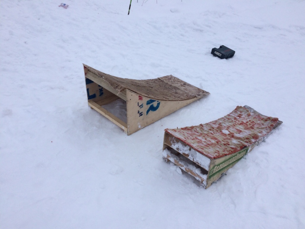 Блог им. Toxan: Где катать зимой, если есть только небольшой заснеженный дерт? Часть 2