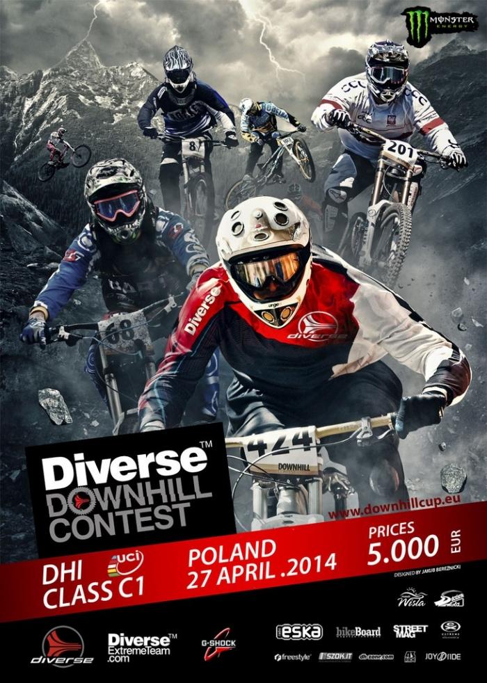 Блог им. MaksimBiev: UCI класс 1 по ДХ в Польше / Висла 25-го апреля 2014 года