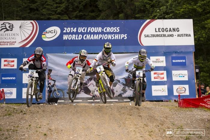 World events: Чемпионат мира по 4х в Леоганге