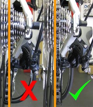 О горном велосипеде: Настройка заднего переключателя
