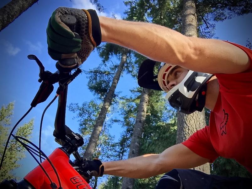 О горном велосипеде: Болят руки от езды?