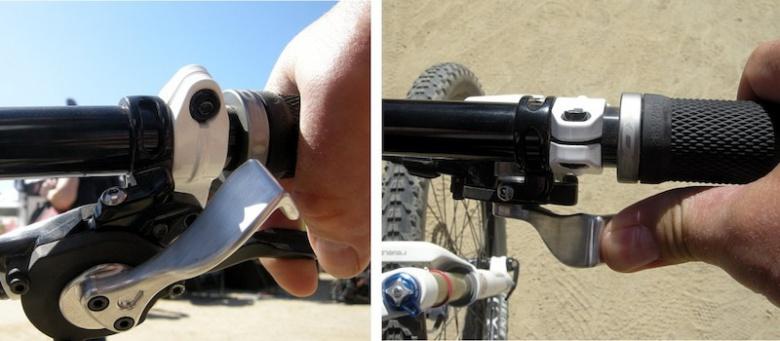 О горном велосипеде: Выбор переключателя: триггерный или грипшифт?