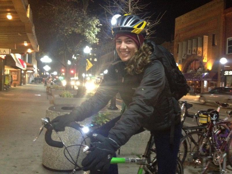 О горном велосипеде: Выбор велосипедной фары