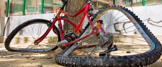 О горном велосипеде: Наиболее удобная сторона для установки переднего тормоза