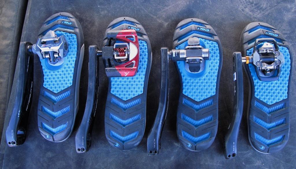 О горном велосипеде: Выбор контактных педалей и обуви