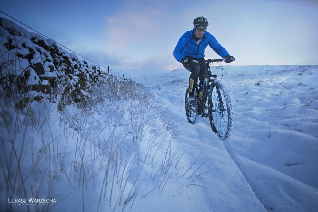 О горном велосипеде: Амортизационная вилка в зимний период