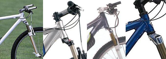 О горном велосипеде: Вилки с конусным штоком и их установка в обычный стакан