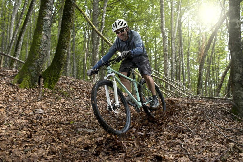 О горном велосипеде: Как добиться хорошего наката