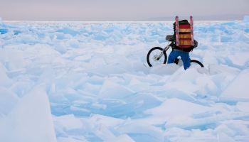 О горном велосипеде: Резина для езды зимой на велосипеде