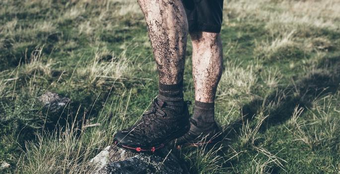 О горном велосипеде: Водонепроницаемые носки