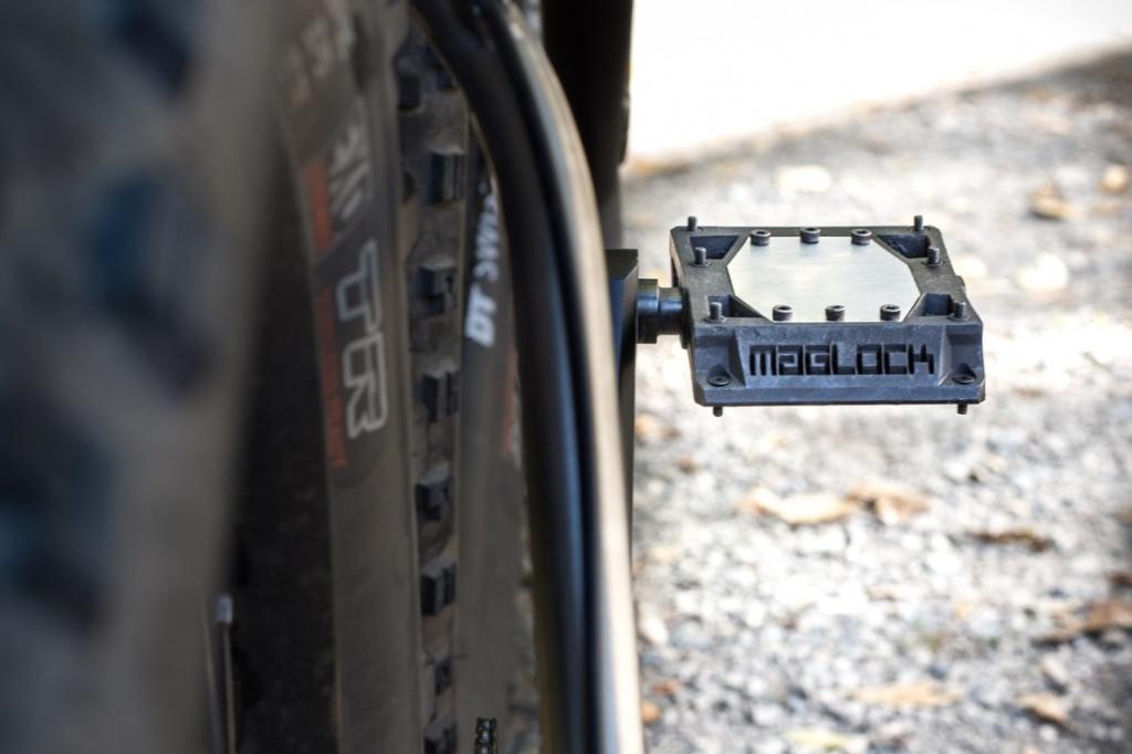 Новое железо: Магнитные педали резко сбросили вес