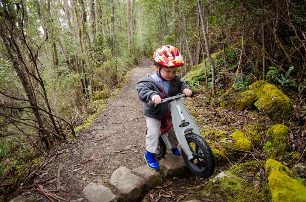 О горном велосипеде: Учим детей кататься на велосипеде