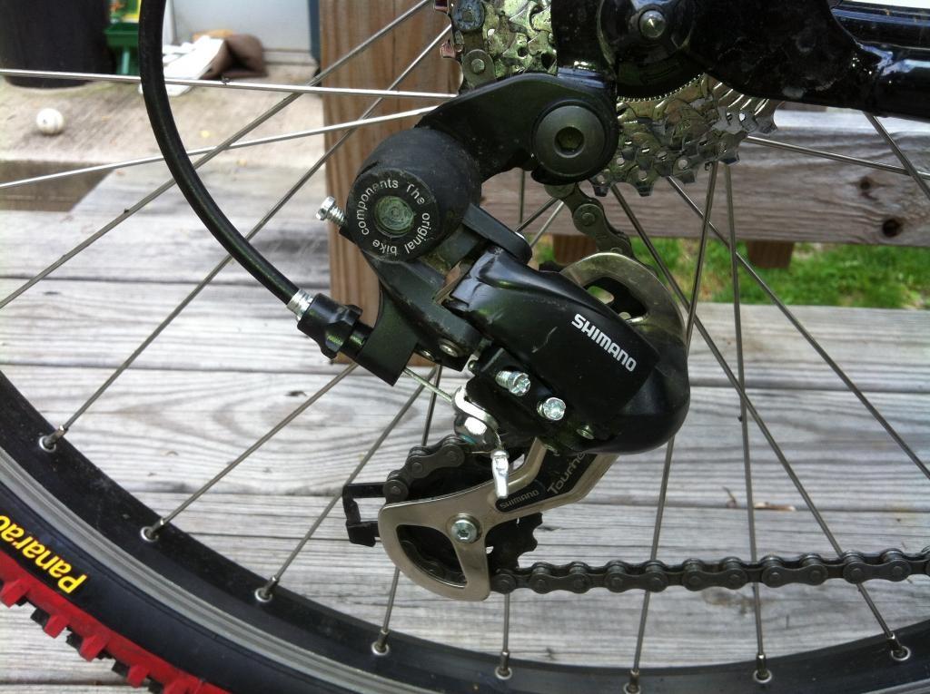 О горном велосипеде: Как настроить задний переключатель