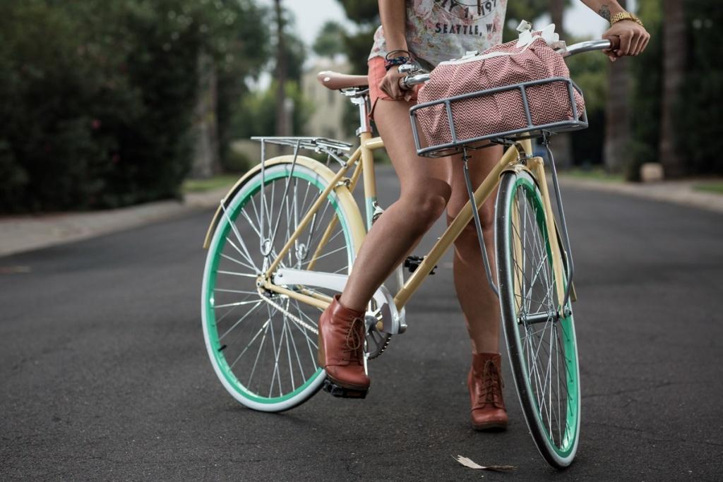 Выбор городского велосипеда для девушки
