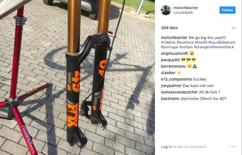 Новое железо: В сети появилось фото новой вилки Fox