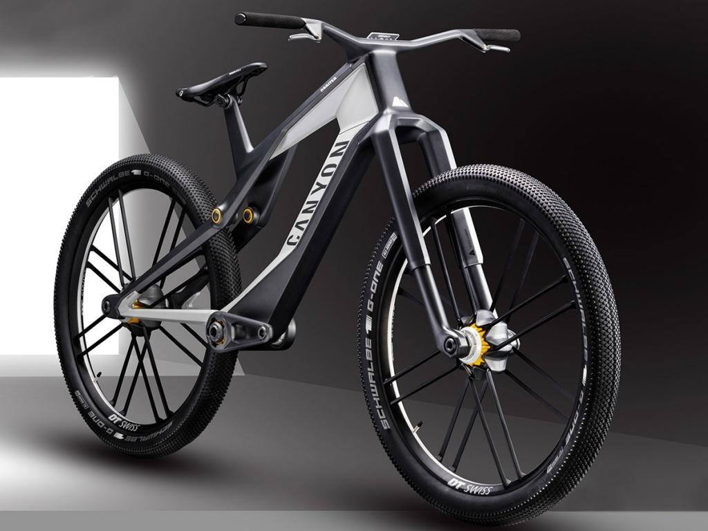 Новое железо: Canyon представили необычный прототип городского велосипеда