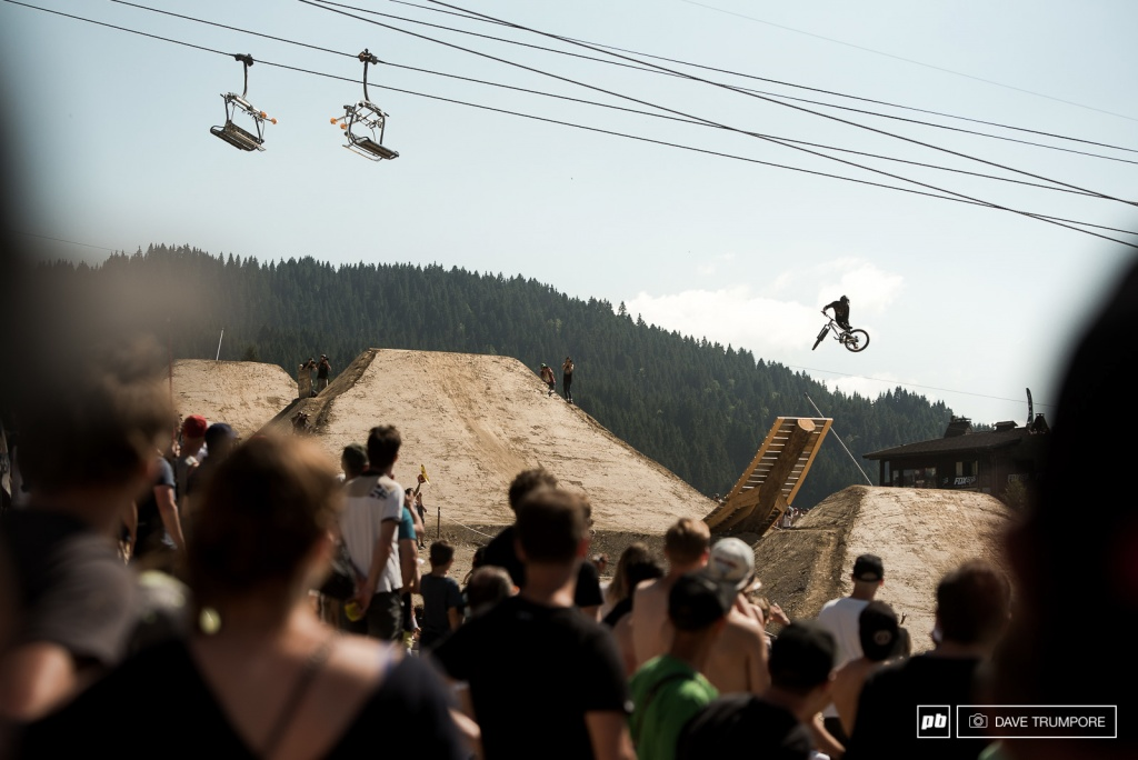 World events: Crankworx Les Gets 2017: Slopestyle