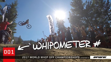 World events: Crankworx Whistler 2017: Whip-off