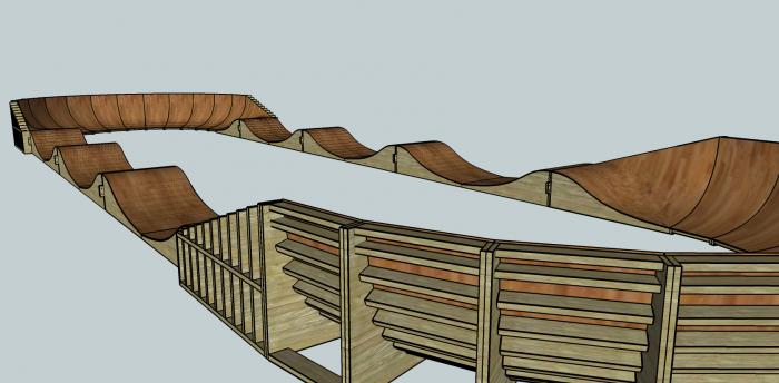 Trailbuilders.ru: Деревянный памп.. Почему бы и нет?