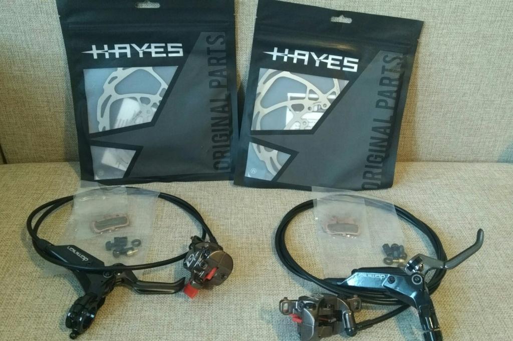 Блог им. DJibrail: Тест новой модели тормозов Hayes Dominion A4