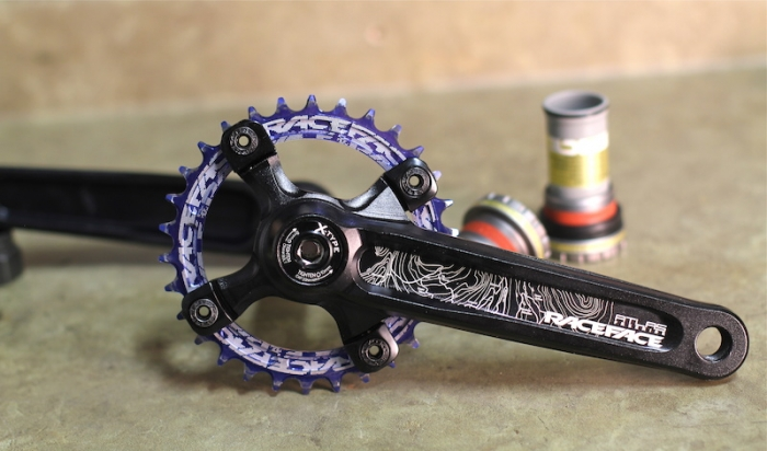 Блог компании Velomirshop.ru: Обзор звезды Race Face Narrow Wide Chainring