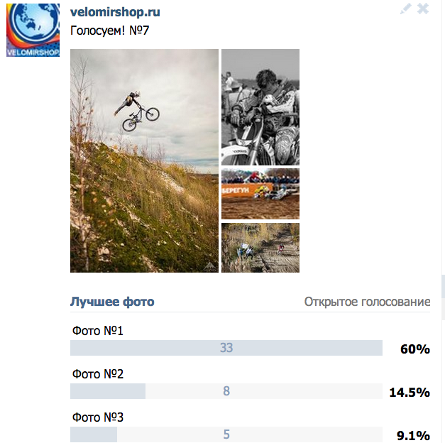Блог компании Velomirshop.ru: Голосуем!