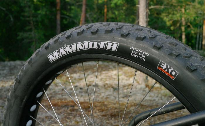 Блог компании Velomirshop.ru: Фэтбайк: первые впечатления от покрышек Maxxis Mammoth
