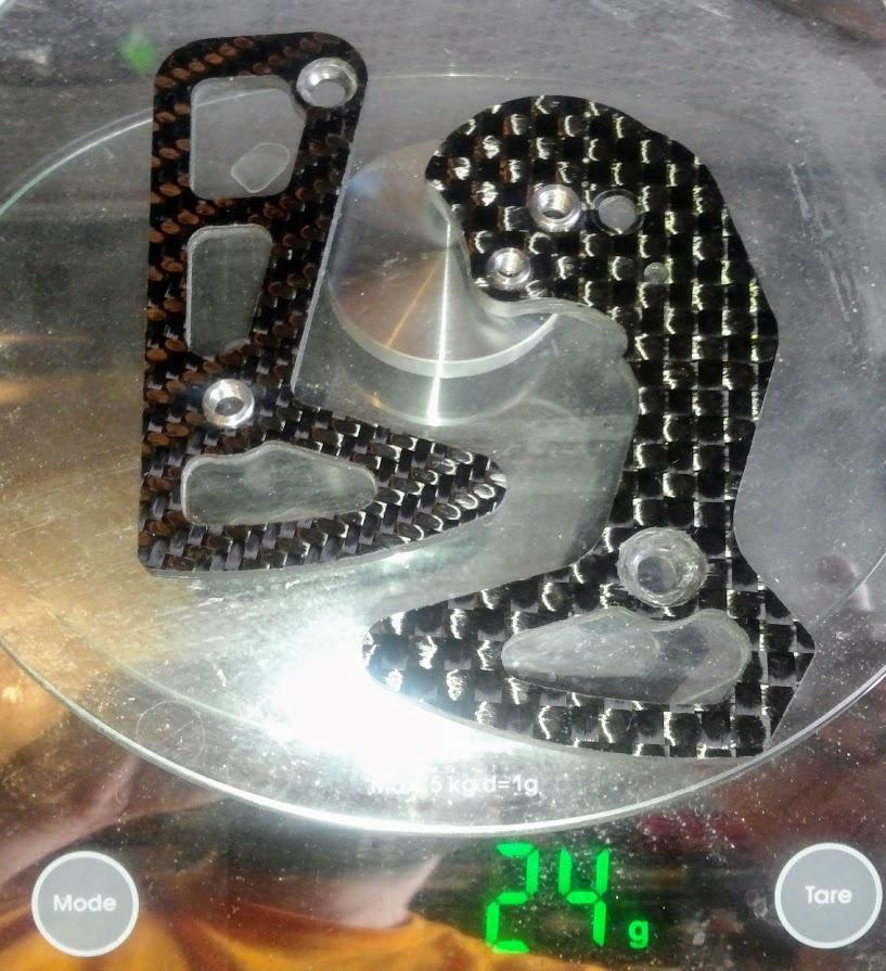Beeper's workshop: Карбоновая короткая лапка Sram Type2
