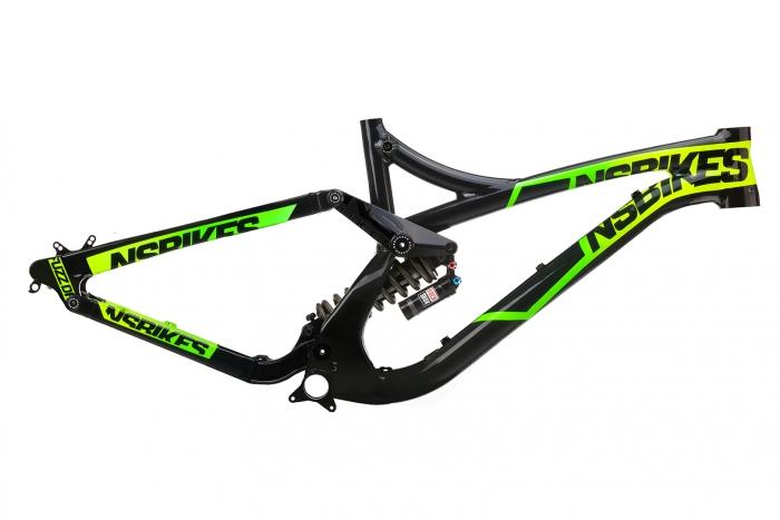 Новое железо: Тест драйв новой даунхильной рамы Fuzz от NS Bikes.