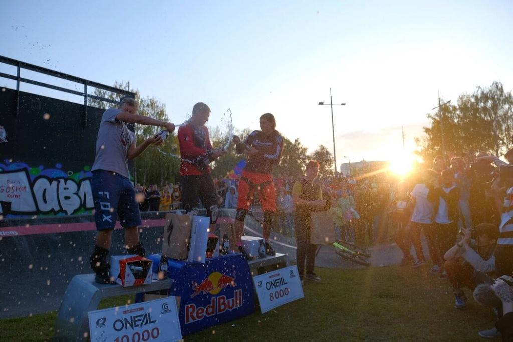 Блог компании Velosolutions Russia: Результаты Red Bull Pump Track World Championship
