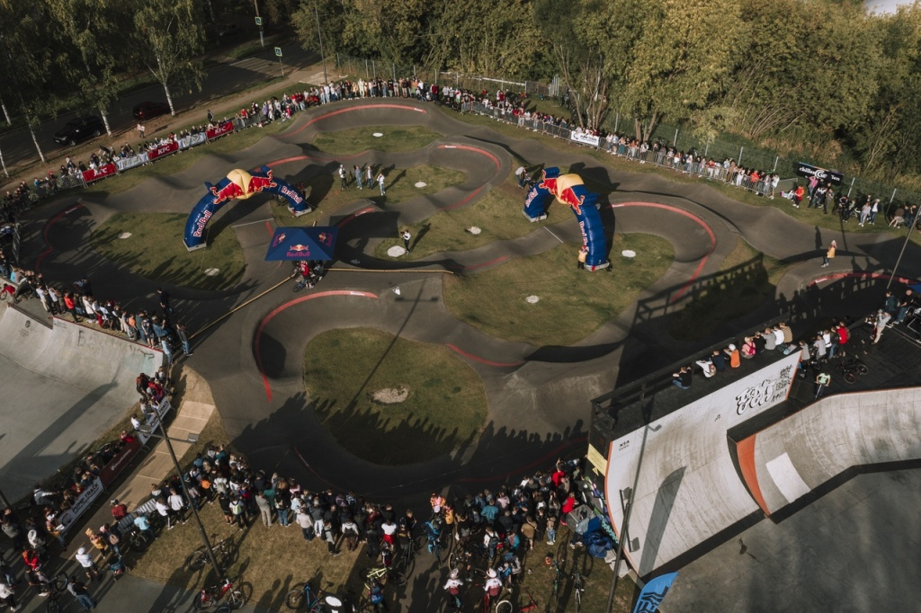 Блог компании Velosolutions Russia: Результаты Red Bull Pump Track World Championship