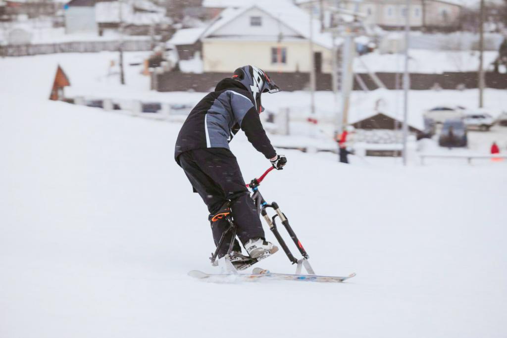 Блог им. IgorekShilin: Skibike Snowscoot Camp 18-25 марта 2017