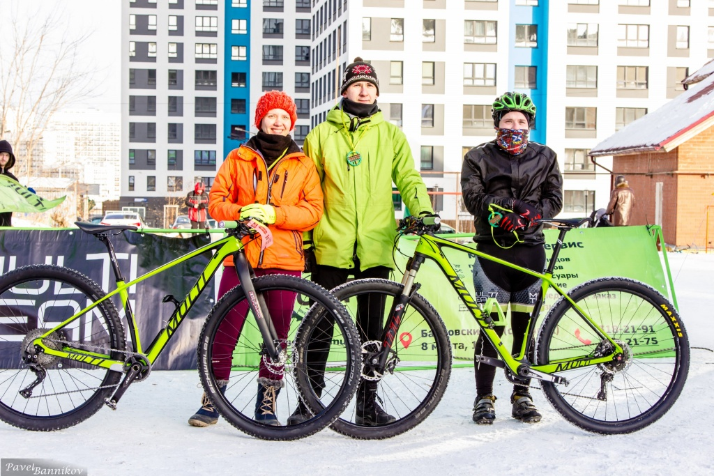 Наши гонки: Зимняя велосипедная гонка Multi-Team TrainingXC 18.02.18