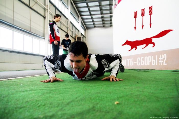Тренировки: Тренировочные сборы в Саранске 2015 #2