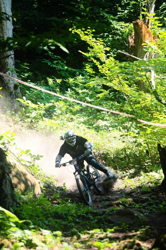Соревнования по Downhill от команды Ну, Погоди в Туапсе