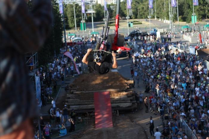 Блог им. IlyaBabay: Moscow City Games 2014. Из райдера в зрители.
