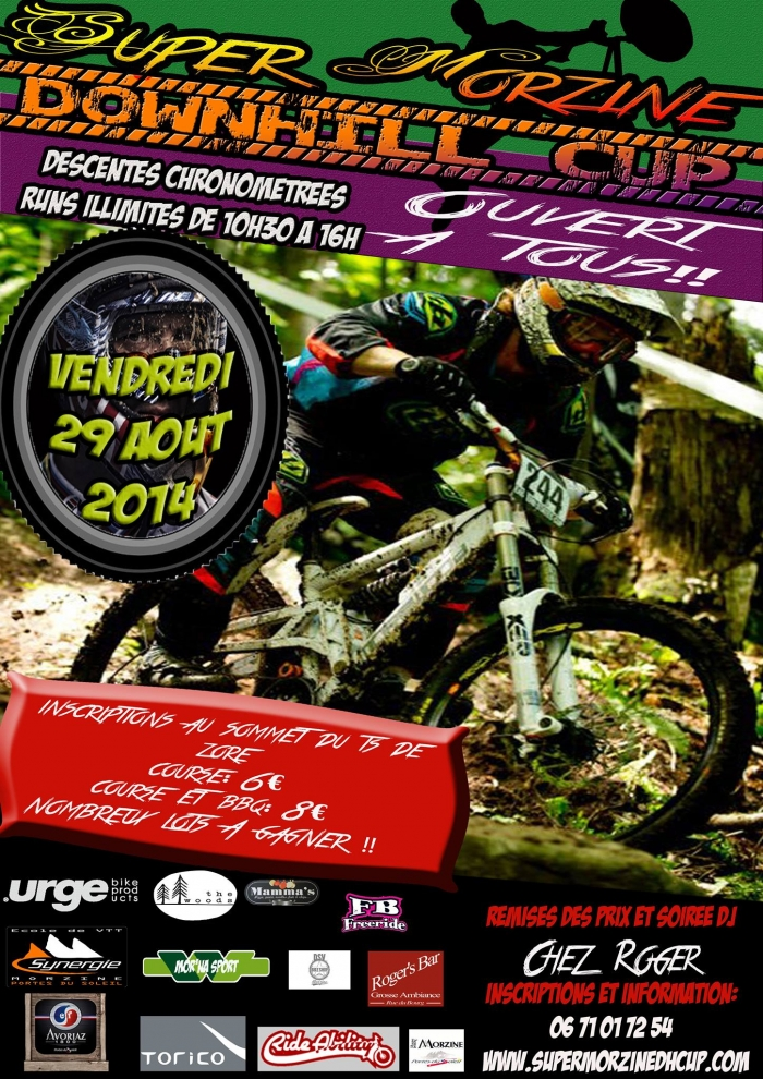 Ride Time Team: Super Morzine DH CUP 2014 или Summer'кат c европейским лицом.