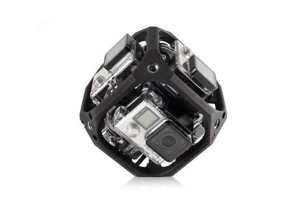 Новое железо: GoPro создаст панорамную видеокамеру и собственный коптер.