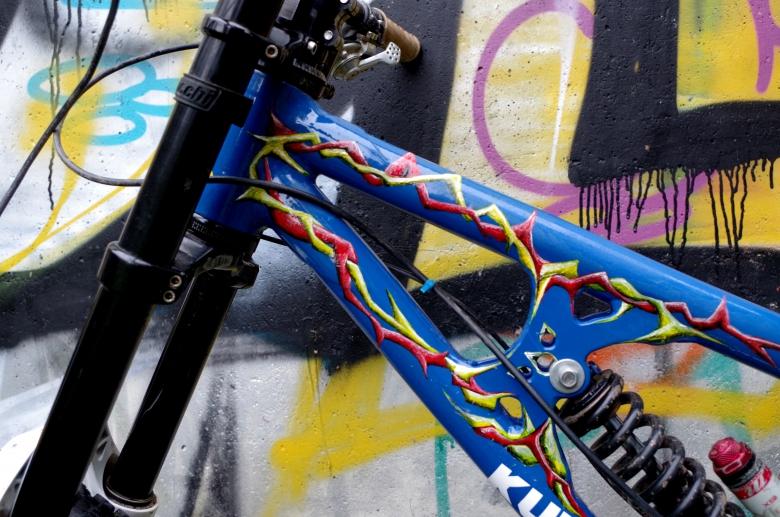 KUVALDA bikes: Больше рычагов Богу рычагов! Или новый четырехрычажный прототип от Kuvalda bikes.