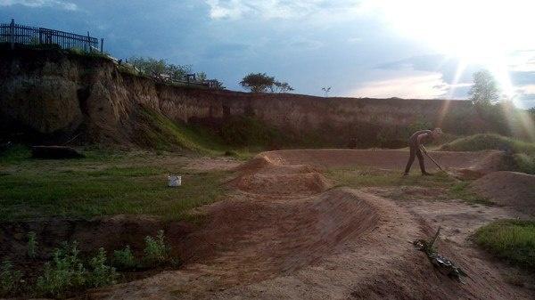 Блог им. Semeniuta: Байк парк Life On Dirt