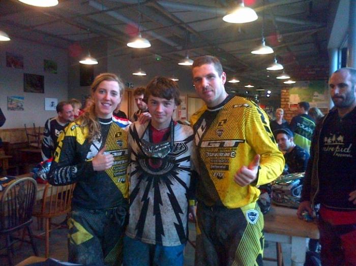 Блог компании Триал-Спорт: Рейчел и Дэн Афертоны на «Experience Day» - видео