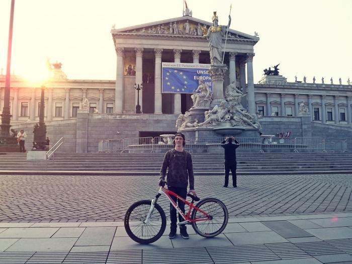 Блог компании Триал-Спорт: GT: Евгений Курников о поездке на Vienna Air King 2014