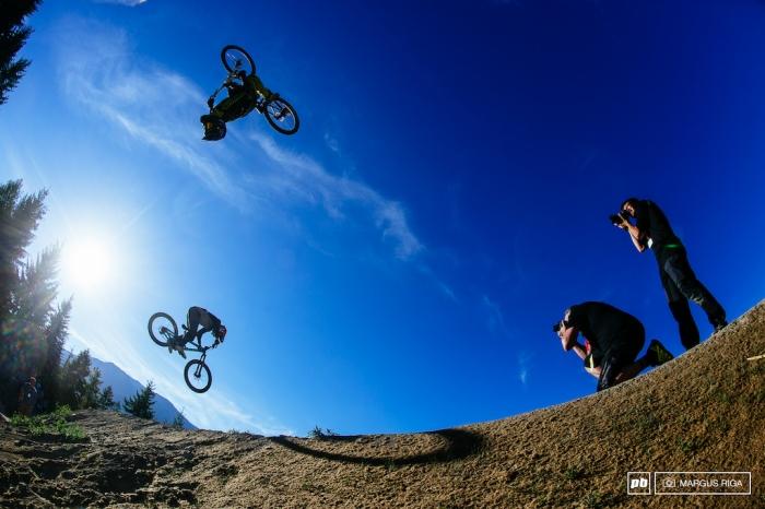 Блог компании Триал-Спорт: GT + Mongoose = Speed & Style. Двойной подиум на Crankworx
