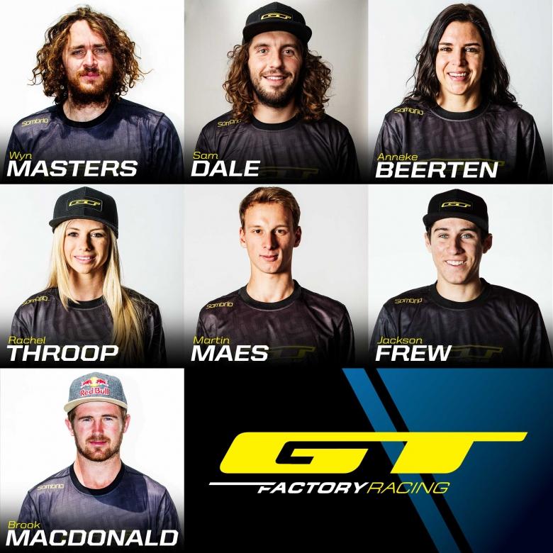 Блог компании Триал-Спорт: GT Bicycles представляют… Новая команда GT Factory Racing 2016!