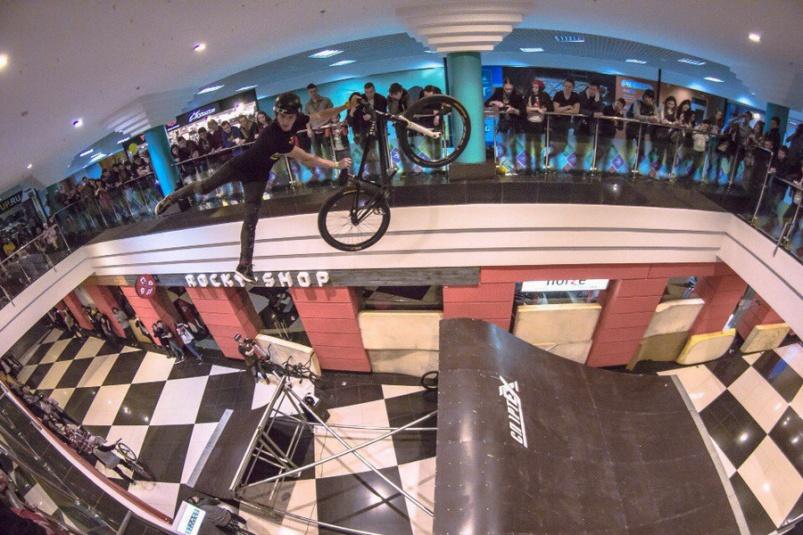 Блог компании Триал-Спорт: GT: Евгений Курников на ФристайлБайкШоу