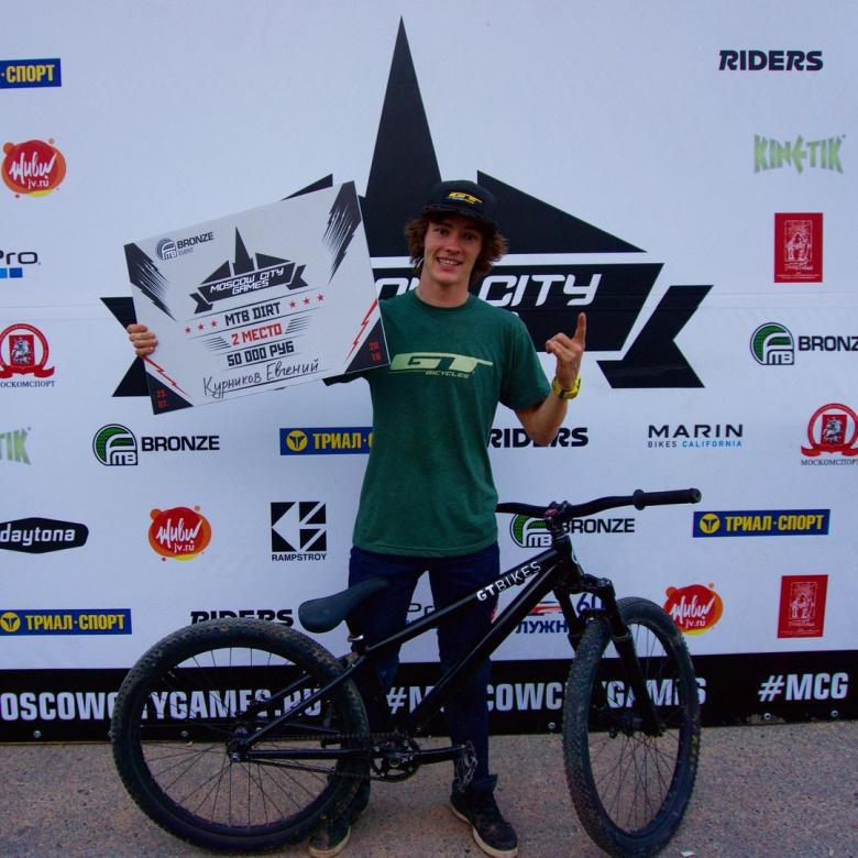 Блог компании Триал-Спорт: GT: Евгений Курников занял второе место на первом FMB World Tour ивенте в истории российского МТВ!