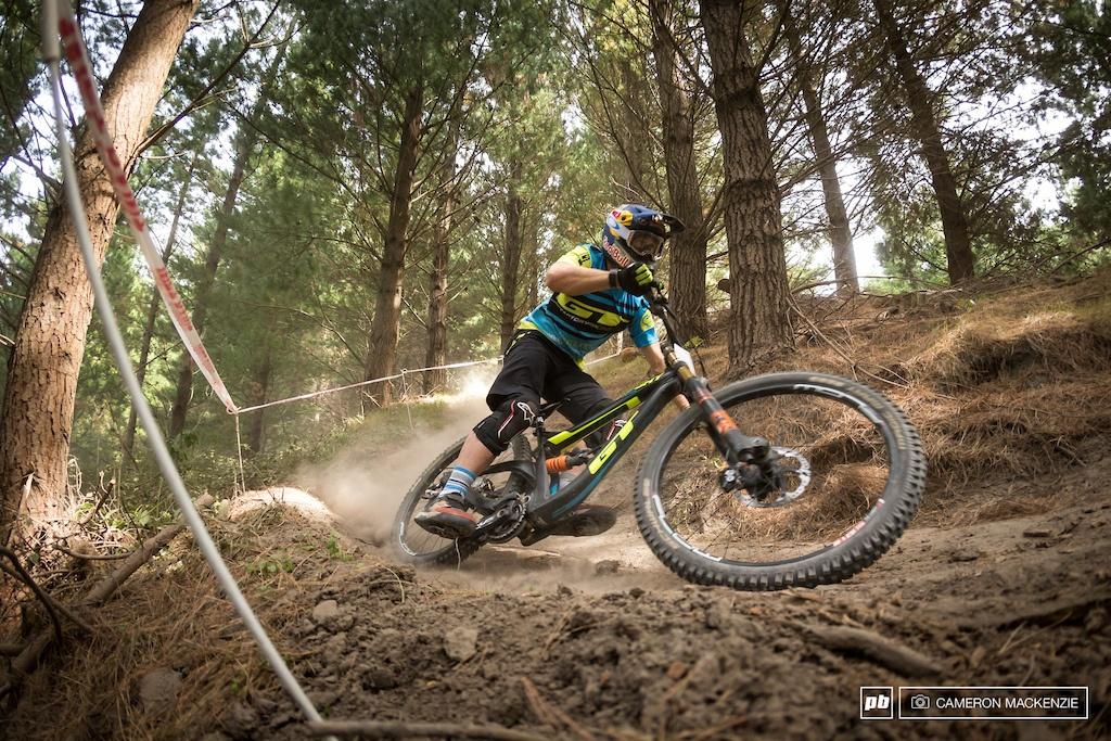 Блог компании Триал-Спорт: GT: Брук МакДональд – второй на втором NZ National DН Series