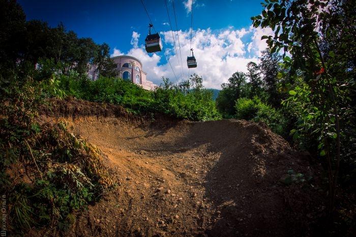 Места катания: Байк-парк Горки в Сочи